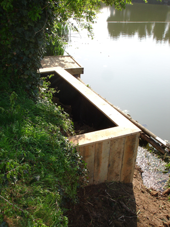 Our revetments are tailored to your needs, and can be combined with other installations.
