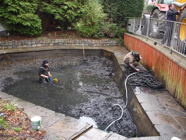 Silt removal service| Pond & lake dredging | Fishery