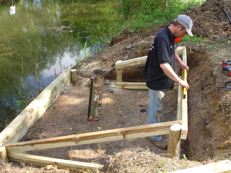 Fishing Swim Projects Case Studies Angling Swims