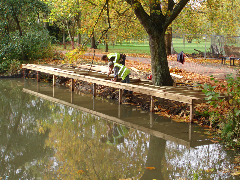 Lake Deck Projects Ponds And Lakes Waterside Access