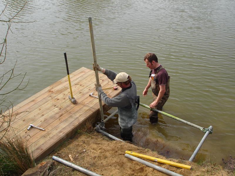 Fishing Platforms Disabled Fishing Pegs Jetties Case